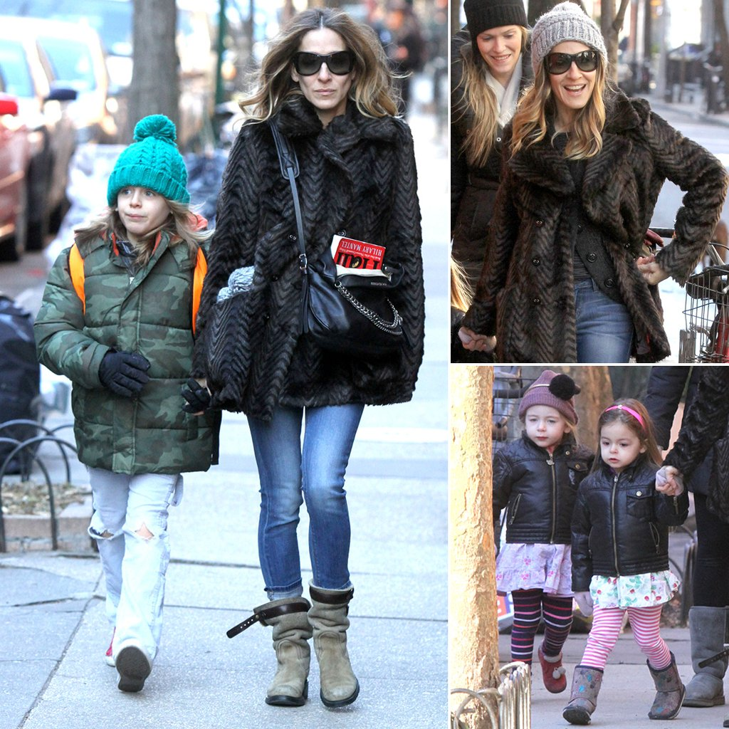 Sarah-Jessica-Parker-Taking-Her-Children-School-NYC