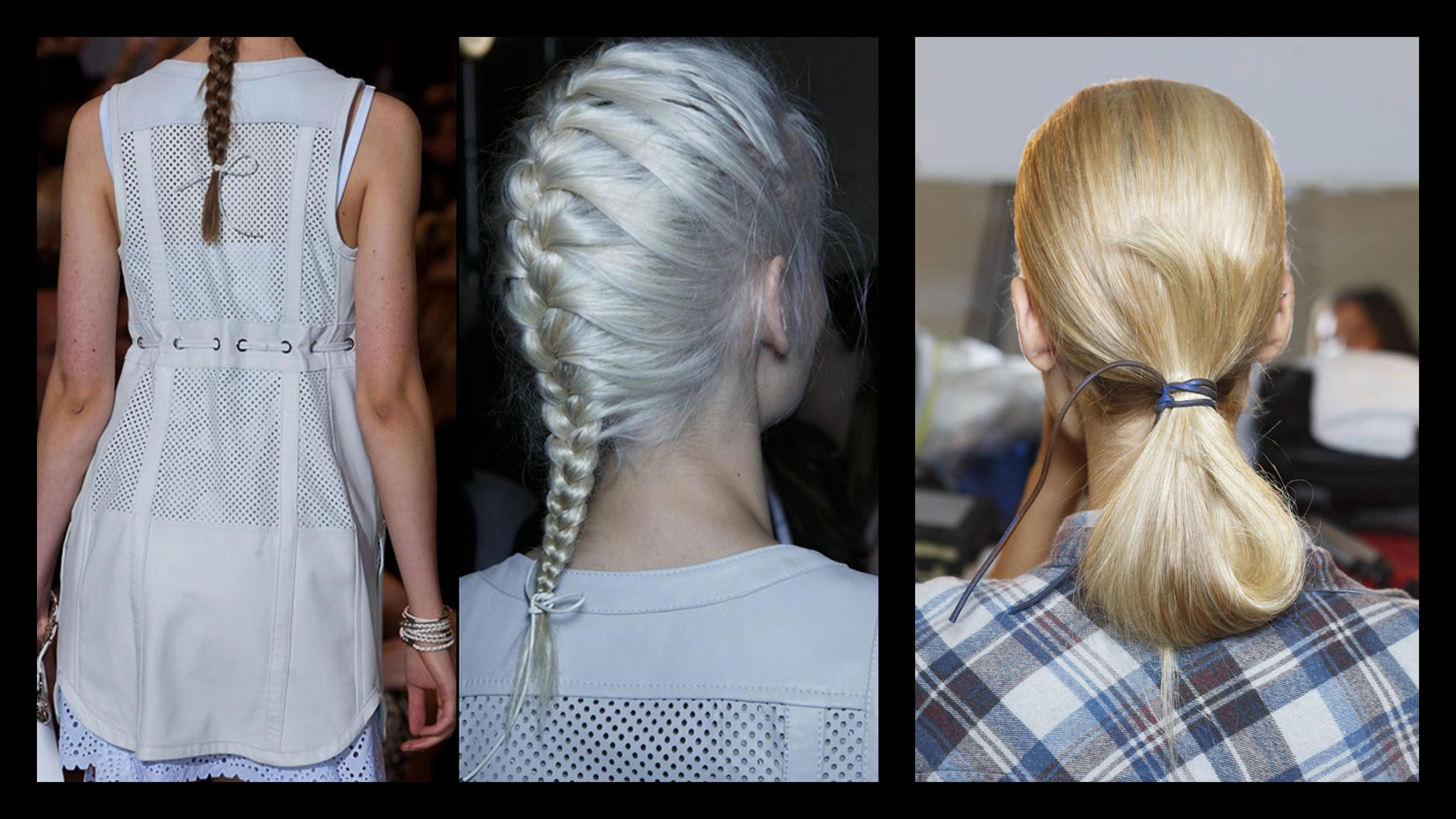 cd6fdae6bd Hairstyle Trend  5 τρόποι να χρησιμοποιήσεις δερμάτινα αξεσουάρ στα μαλλιά  σου!