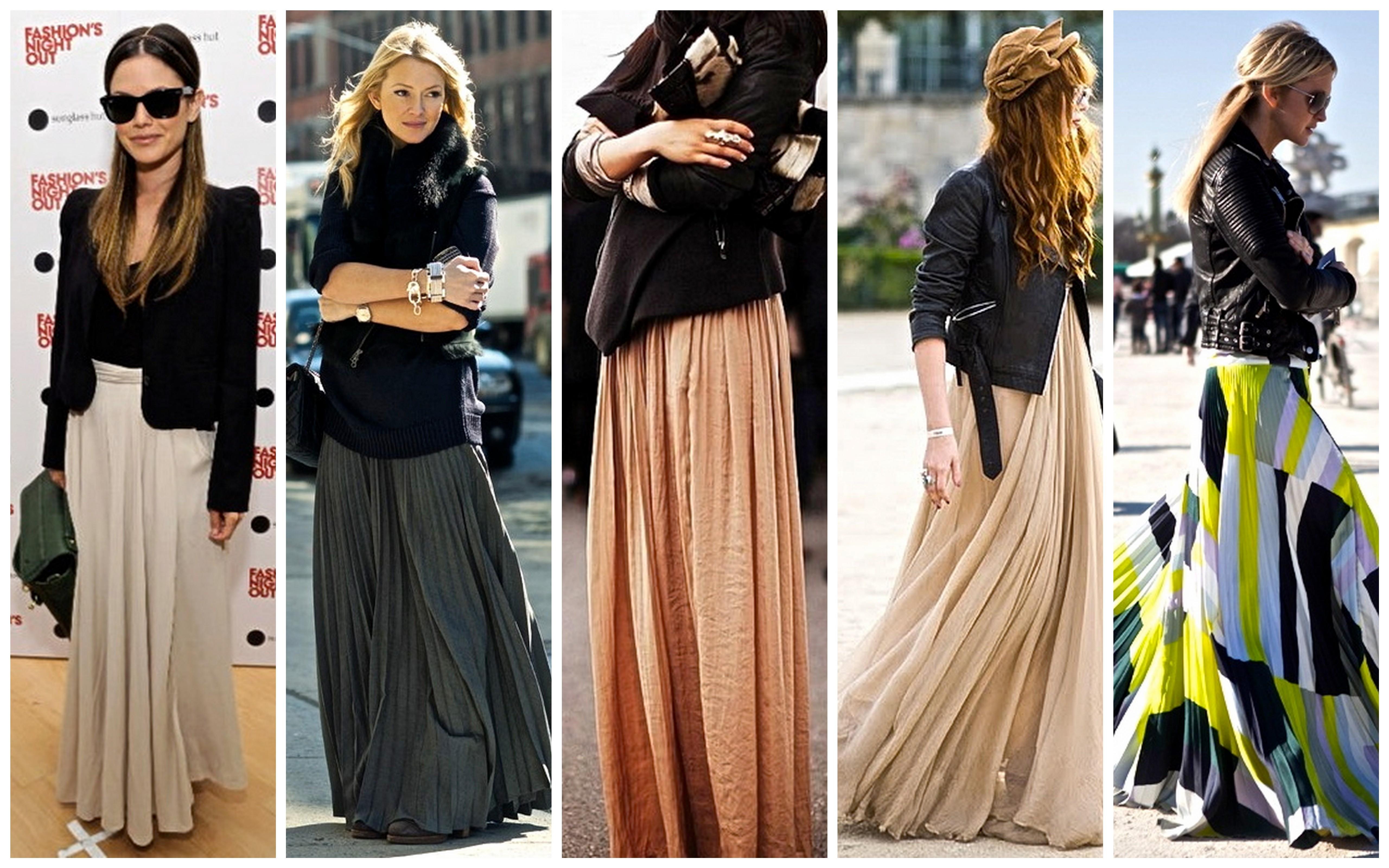 a30773ce2d61 Maxi Skirt  Πως να φορέσεις τη μάξι φούστα το χειμώνα - Fay s book