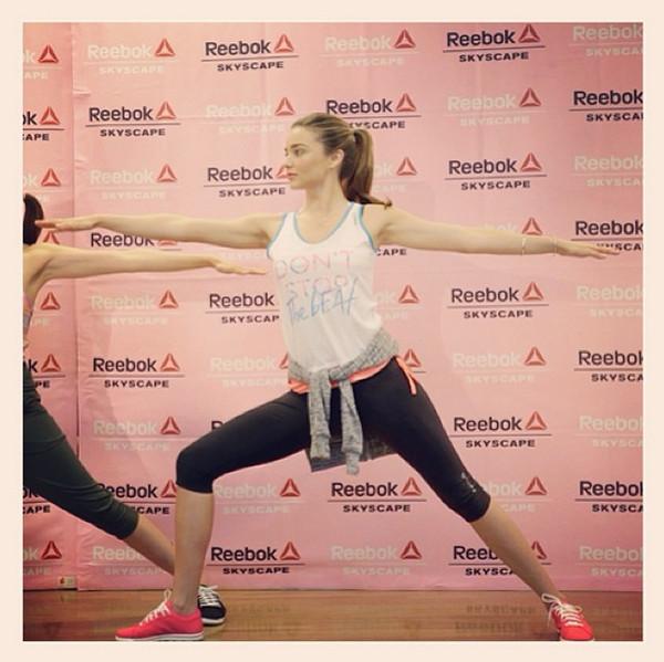 12 miranda kerr yoga