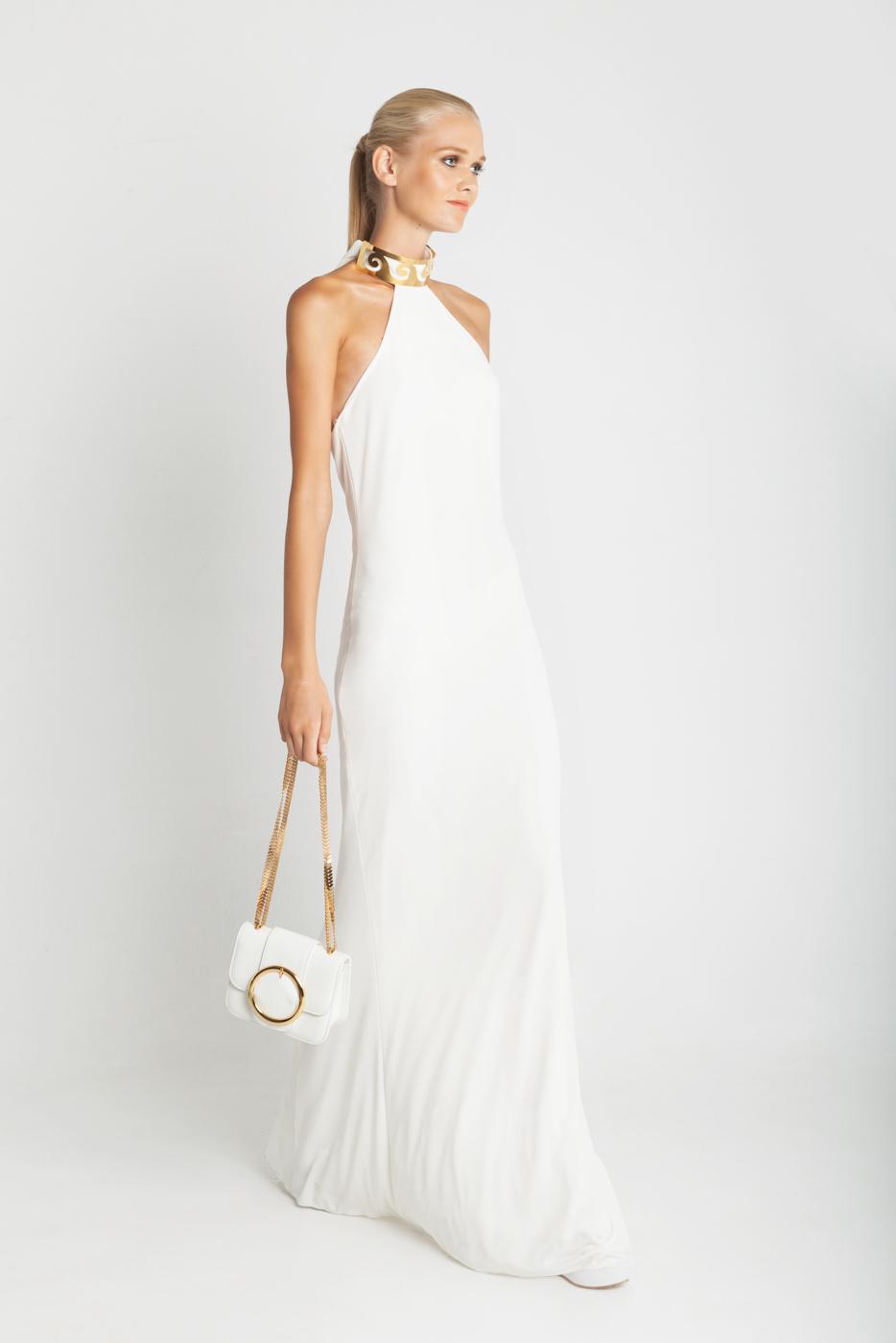 3741c5a589f9 Βρήκαμε το υπέροχο λευκό μάξι φόρεμα της Κέλλυς Κελεκίδου στη ...