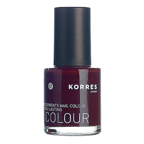 Korres Nail Colour Deep Red