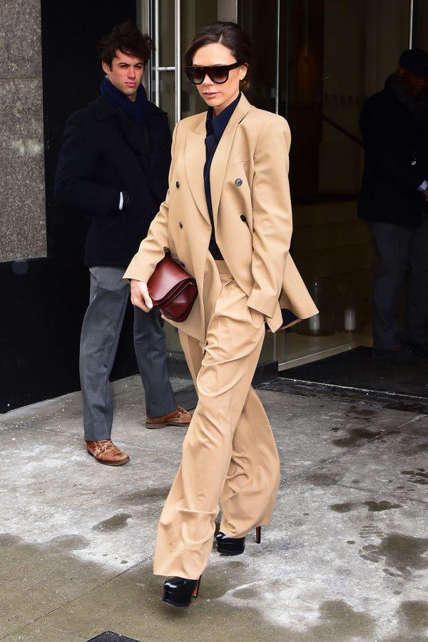victoria-beckham-style-camel-suit-600x900