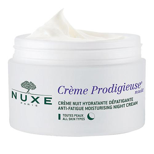η τέλεια επιλογή για ταλαιπωρημένες επιδερμίδες με εμφανή σημάδια κόπωσης, Nuxe, Prodigieux Anti-Fatigue Moisturising Night Cream
