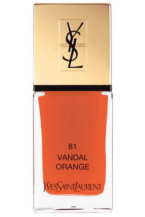 Yves Saint Laurent La Lacque Couture Nail Polish στην αποχρωση Vandal Orangeω