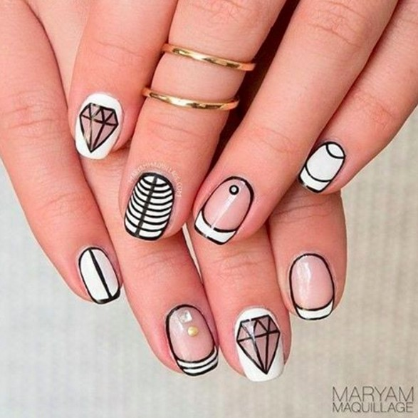 graphic nails 10