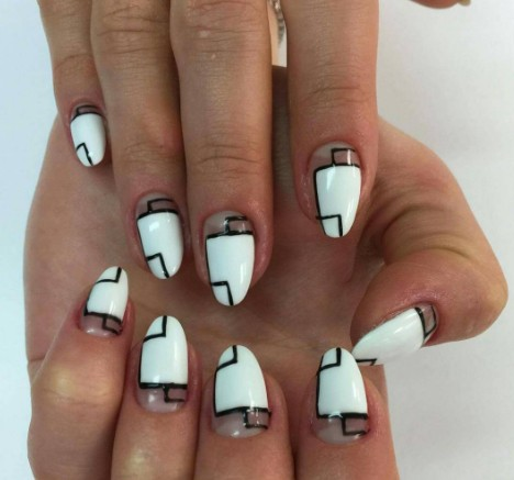 graphic nails 9