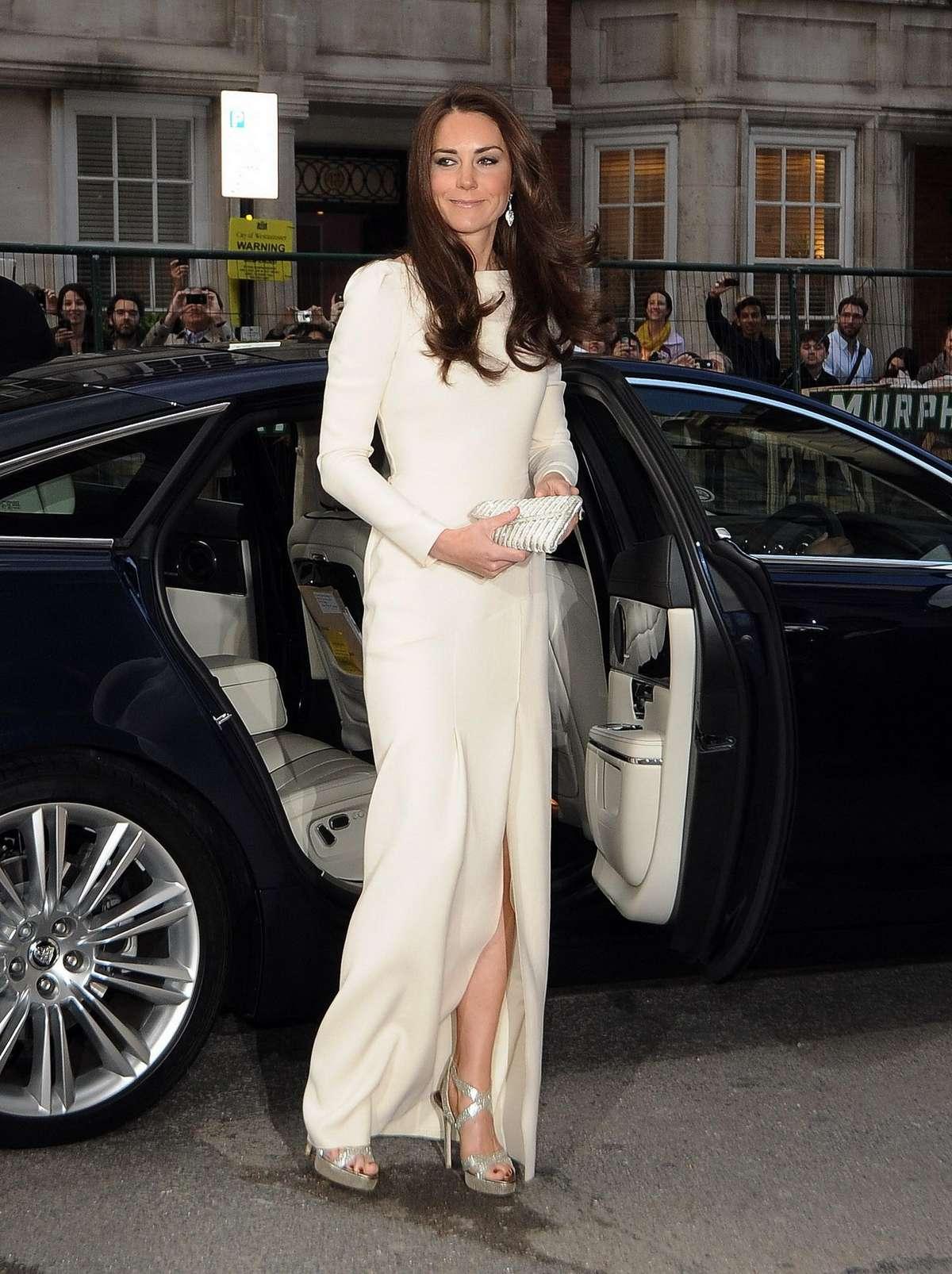 Kate Middleton - claridges hotel may 8