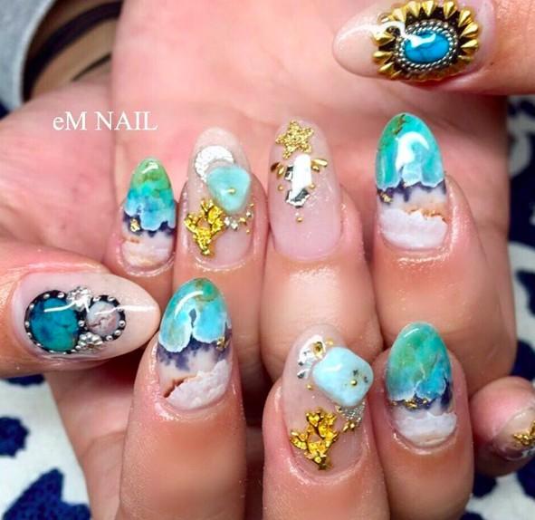 ocean nails 1