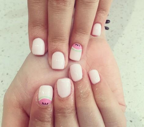 watermelon nails 6