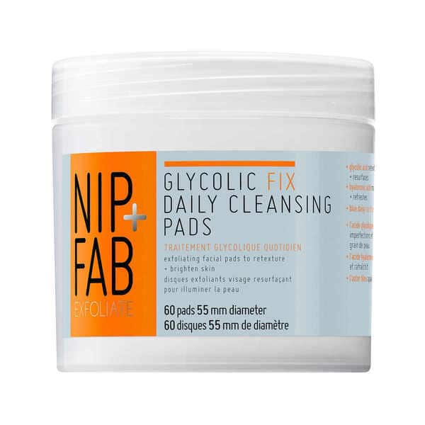 NipFab-Glycolic-Fix-Exfoliating-Facial-Pads-x60-685756