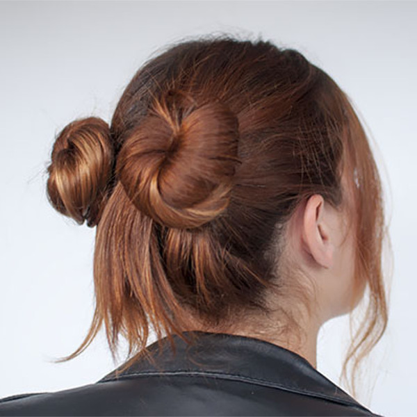 low space bun 12
