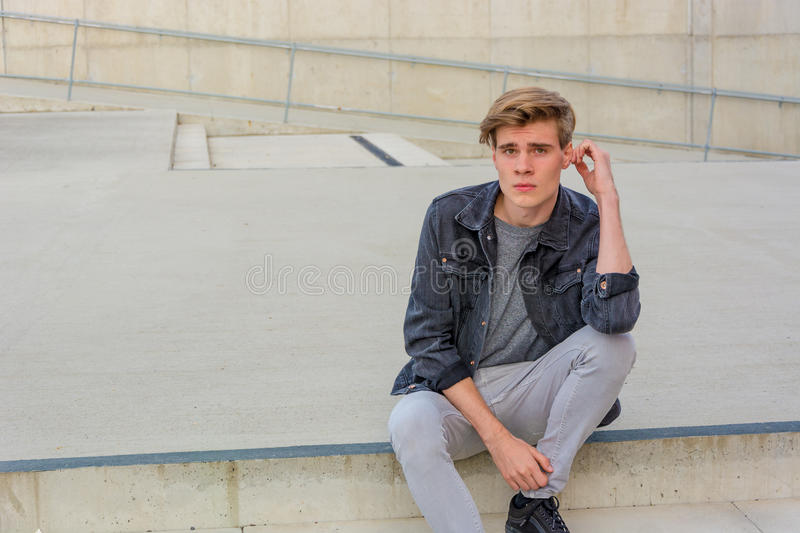 teenager-boy-sitting-stairs-thinking-unsure-thoughtful-teen-sittion-city-outdoor-waiting-somebody-unhappy-shot-78614792