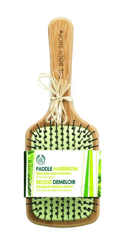 9 BambooPadleBrush