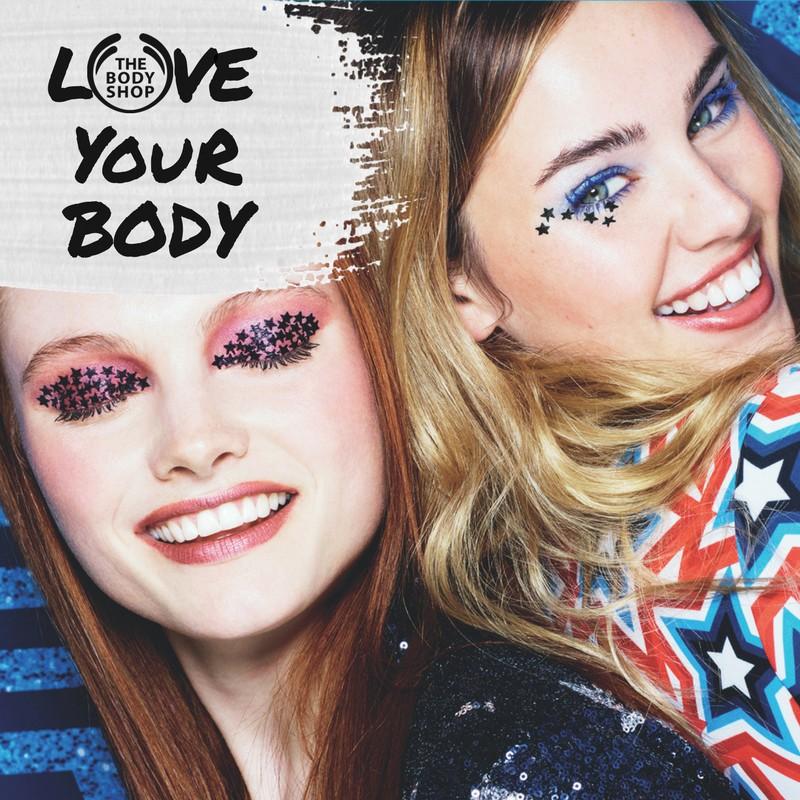 body shop xmas makeup cover