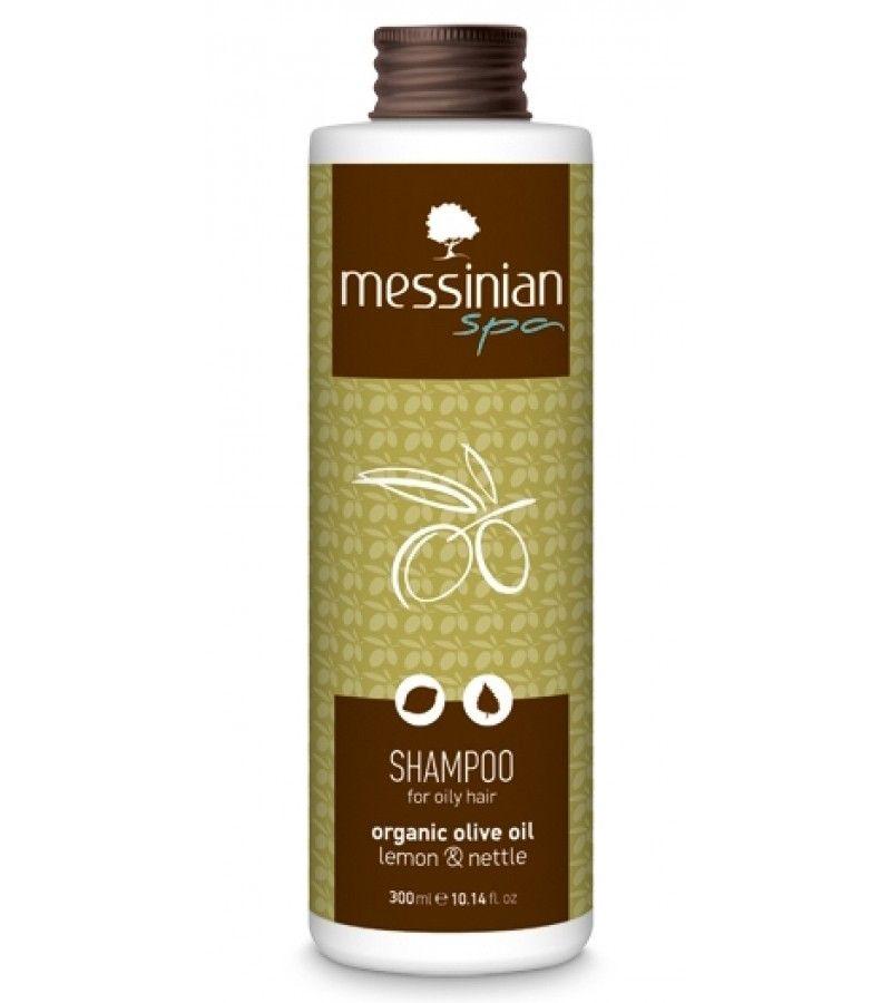 MESSINIAN SPA Σαμπουάν για Λιπαρά Μαλλιά Λεμόνι -Τσουκνίδα