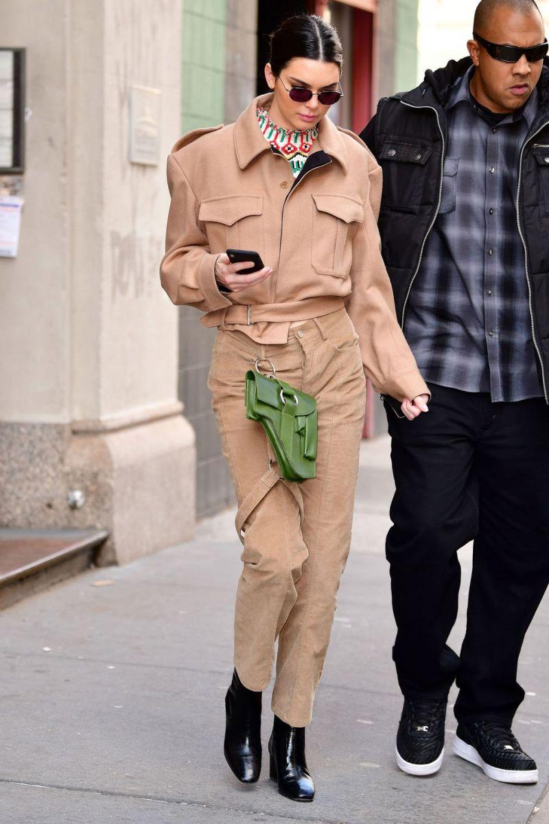 Άλλο ένα σετ που επέλεξε να φορέσει η Kendall.