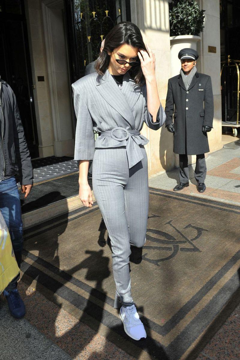 Η πιο πρόσφατη εμφάνισή της στο Παρίσι πριν λίγες μέρες.