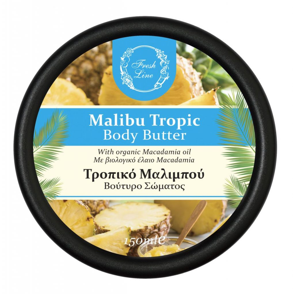BODY BUTTERS MALIBU TROPIC '18 front