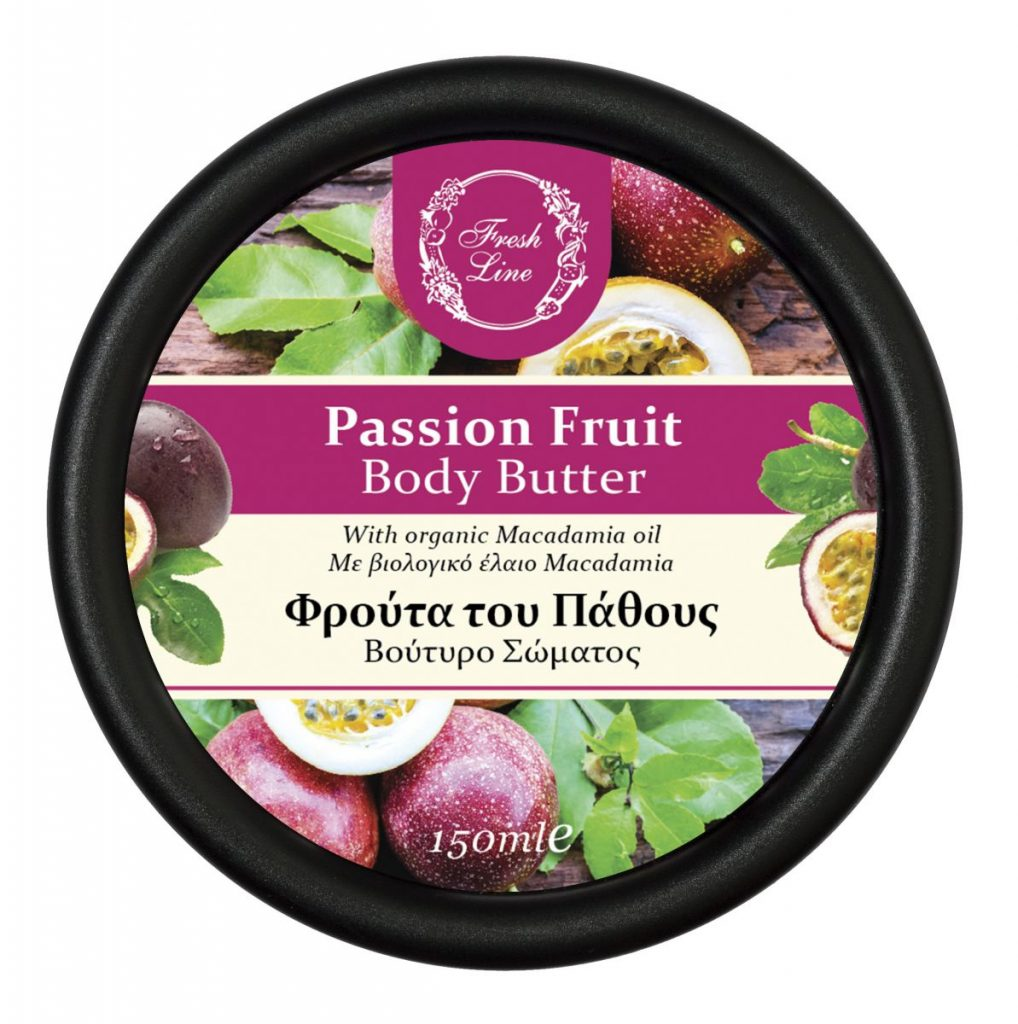 BODY BUTTERS PASSION FRUIT '18 front