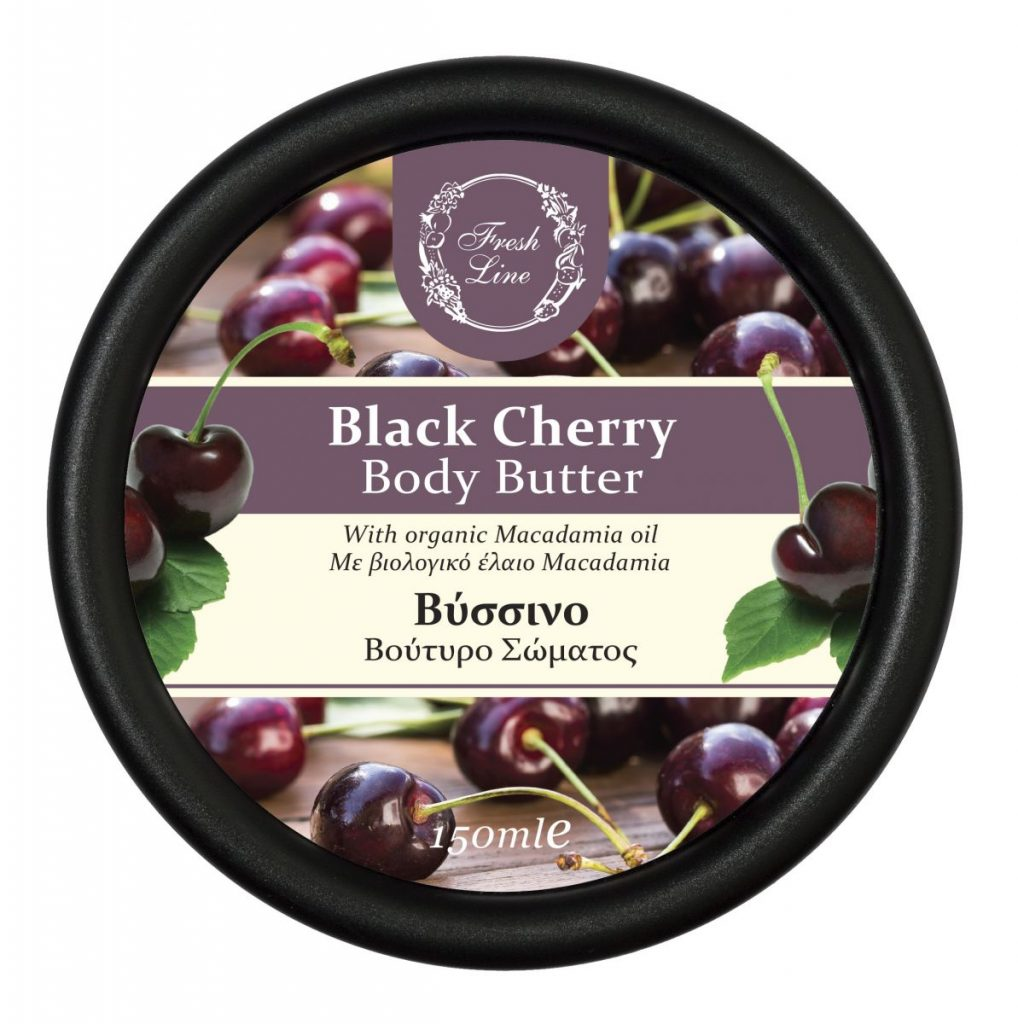 BODY BUTTERS CHERRY '18 front
