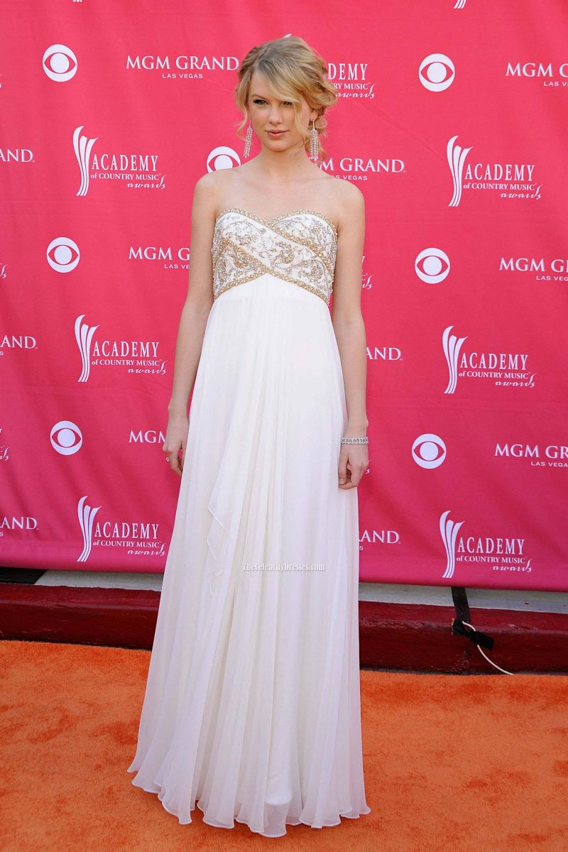taylor_swift_white_strapless_beaded_prom_gown_evening_formal_dress