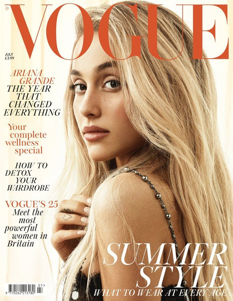 Ariana-Grande-Wears-Her-Hair-Down-Vogue-UK-Cover