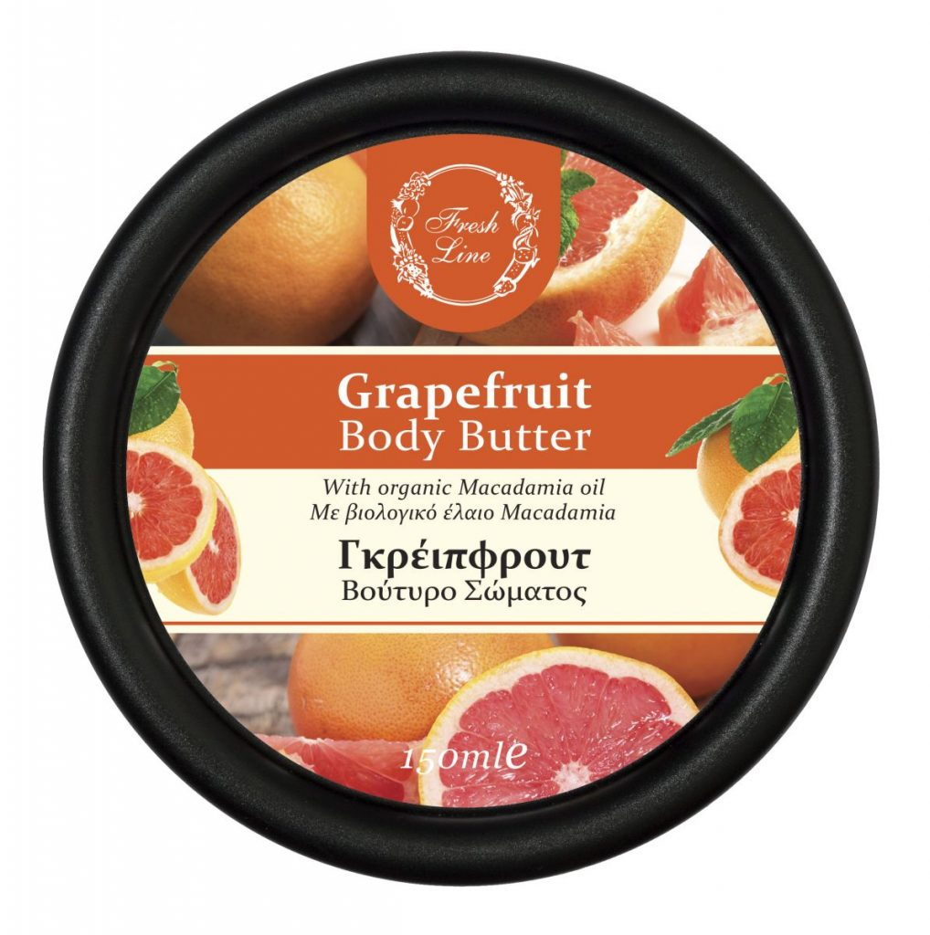BODY BUTTERS GRAPEFRUIT '18 front
