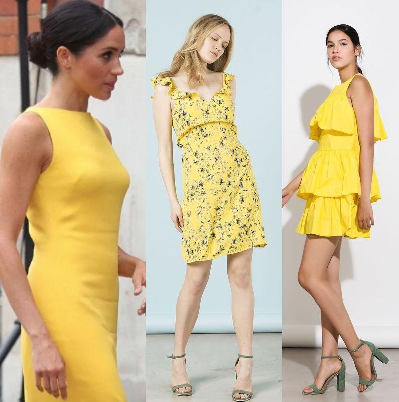 f62e165900cf Το φόρεμα της Meghan Markle μας ενέπνευσε και σου βρήκαμε 8 κίτρινα  φορέματα που θα σε ξετρελάνουν!