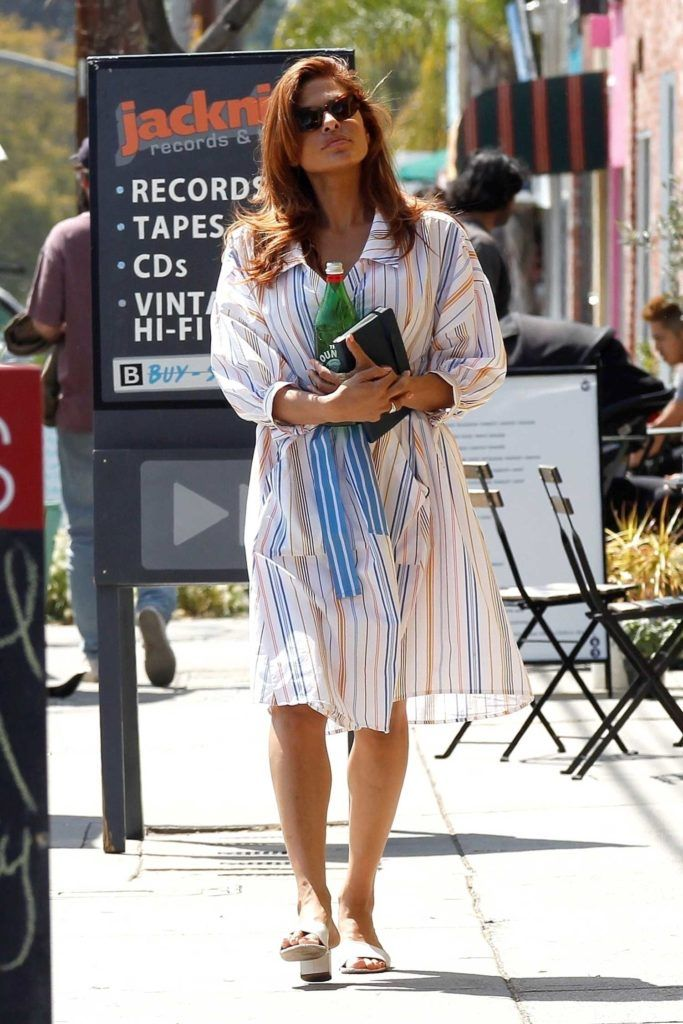 eva-mendes-in-a-white-striped-dress-was-seen-out-in-la-1-683x1024