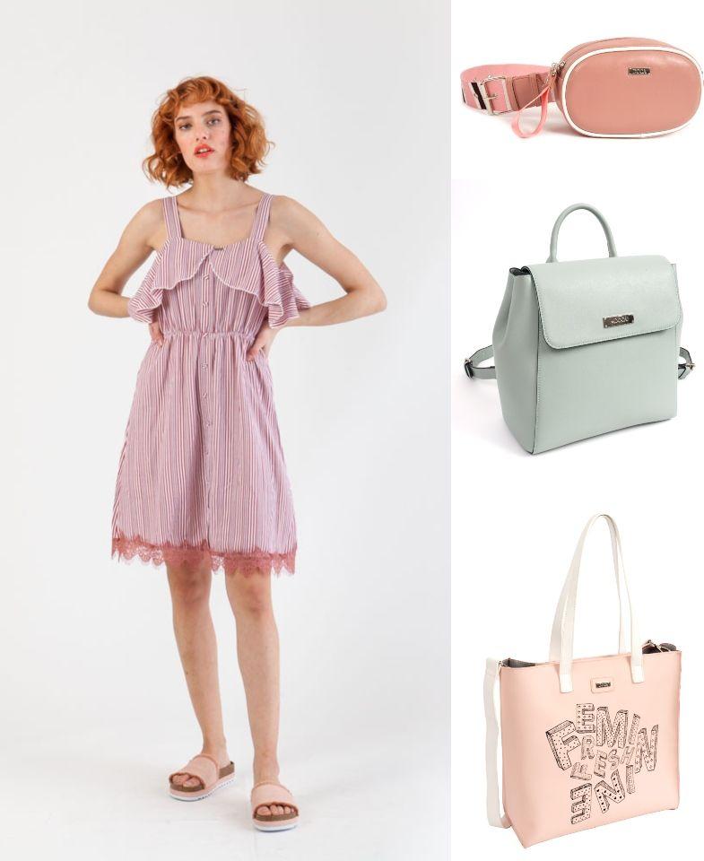 c9344eecc7 «Αγόρασα ένα shirt dress και δεν έχω ιδέα πώς να το φορέσω και με τι είδους  τσάντα. Please