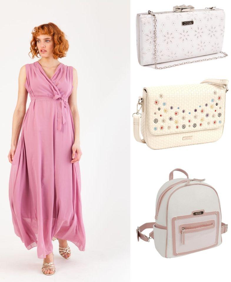 506c4fff747 Με τι τσάντα να φορέσω το μάξι φλοράλ φόρεμά μου;» Αν θέλεις κάτι  ανατρετικό τότε θα ψάξεις για τσάντες ...