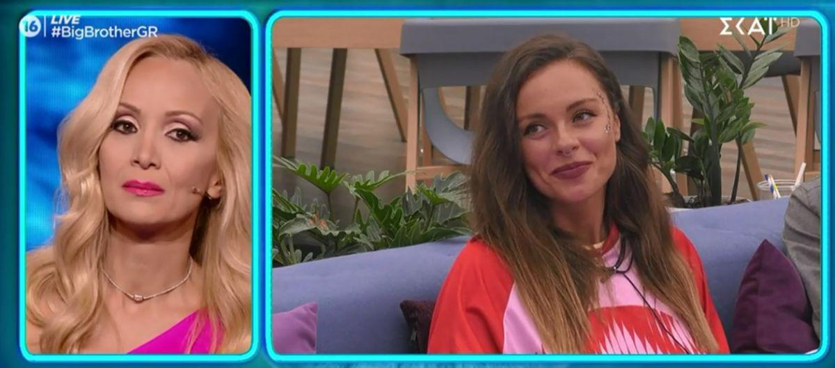Big Brother: «Λύγισε» η Νάταλι Κάκκαβα από την εξομολόγηση της Ευδοκίας για την κακοποιητική συμπεριφορά που έχει δεχτεί