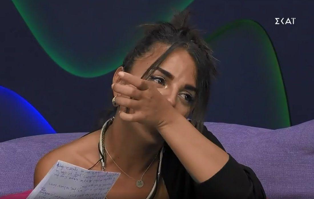 Big Brother: «Λύγισε» η Σύλια Καραμολέγκου – Το γράμμα που δεν περίμενε από τον σύντροφό της